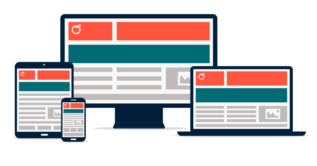 webbureau københavn, responsive hjemmeside i flere skærmstørrelser