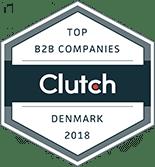 webbureau københavn, clutch badge ikon